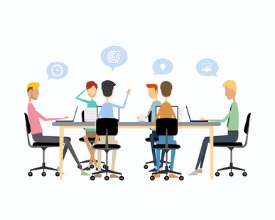 collaboration en équipe